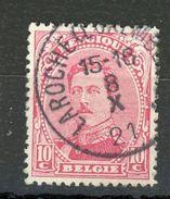 BELGIQUE  ALBERT Ier N° Yvert 138 Obli - Used Stamps