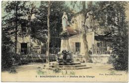A1 13 ROGNONAS Statue De La Vierge 1918 - Francia