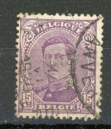 BELGIQUE  ALBERT Ier N° Yvert 139 Obli - Used Stamps