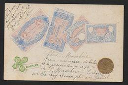 Billets Français Et Pièce 10 Fr Or - Monnaies (représentations)