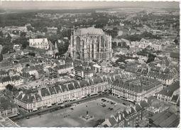 BEAUVAIS (Oise 60) La France Vue Du Ciel, Vue Aérienne - Place Hachette, Cathédrale, Palais De Justice - Beauvais