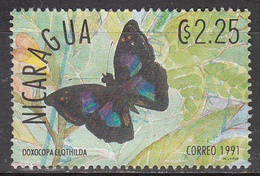 NICARAGUA    SCOTT NO. 1861 P    USED     YEAR  1991 - Nicaragua