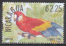 NICARAGUA    SCOTT NO. 1861 C    USED     YEAR  1991 - Nicaragua