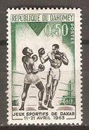 DAHOMEY   -    1963 .    Y&T N° 192 ** .  Boxe - Bénin – Dahomey (1960-...)