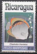 NICARAGUA    SCOTT NO. 1962 H    USED     YEAR  1993 - Nicaragua