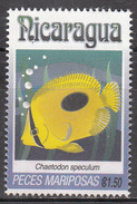 NICARAGUA    SCOTT NO. 1962 G    USED     YEAR  1993 - Nicaragua