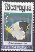 NICARAGUA    SCOTT NO. 1962 L    USED     YEAR  1993 - Nicaragua