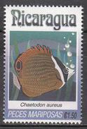 NICARAGUA    SCOTT NO. 1962 K    USED     YEAR  1993 - Nicaragua