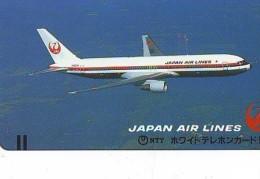 Télécarte  JAPON * FRONT BAR * JAL (2328)  *  Phonecard JAPAN * Airplane * Flugzeug AVION * AIRLINE - Airplanes