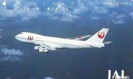Télécarte  JAPON * 110-73310 * JAL (2329)  *  Phonecard JAPAN * Airplane * Flugzeug AVION * AIRLINE - Airplanes