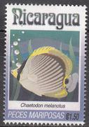 NICARAGUA    SCOTT NO. 1962 J    USED     YEAR  1993 - Nicaragua