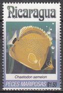 NICARAGUA    SCOTT NO. 1962 N    USED     YEAR  1993 - Nicaragua