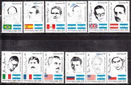 NICARAGUA    SCOTT NO. 2148 A-L   USED     YEAR  1995 - Nicaragua
