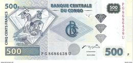 Congo - Pick 96 - 500 Francs 2002 - Unc - Congo