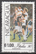 NICARAGUA    SCOTT NO. 1848     USED     YEAR  1984 - Nicaragua