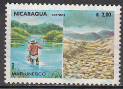 NICARAGUA    SCOTT NO. 1380     USED     YEAR  1984 - Nicaragua
