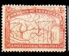 MICHEL NUM 50 -* - 1896 - COTE 70 EURO - Venezuela
