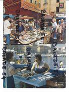 2 CPM - NICE (1)/ LE MARCHE AUX POISSONS / Sur Le Vieux Port (2) - Poissons Et Crustacés
