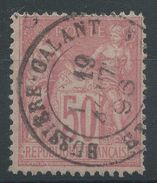 Lot N°37306  N°98, Oblit Cachet à Date  BUSSIERE-GALANT (Etranger)  ????????? - 1876-1898 Sage (Type II)