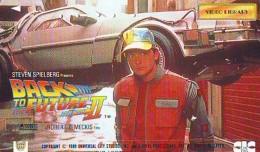 Télécarte Japon * BACK TO FUTURE II  (4108) STEVEN SPIELBERG *  JAPAN Phonecard * TK * CINEMA * KINO * MOVIE - Kino
