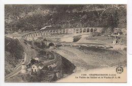 - FRANCE (48) - CPA Vierge CHAPEAUROUX - La Vallée De L'Allier Et Le Viaduc P.L.M. - Edition MARGERIT-BREMOND 1109 - - France