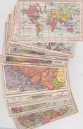 Atlas De Poche - 20 Carte Géographiques ... - Cartes