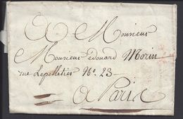 FR - Lettre De Macon à Monsieur Edouard Morin, En Port Payé, Pour Paris - B/TB - - Marcophilie (Lettres)