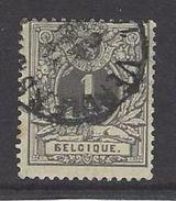 België Nr 43 Met Russische B - 1869-1888 Lion Couché