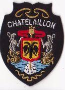 écusson Brodée -  Chatelaillon - Scudetti In Tela