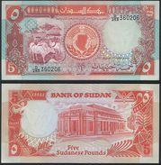 Sudan P 45 - 5 Pounds 1991 - UNC - Sudan