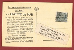 Preo Namur 3 C Zwaar Overstempeld Met Rolstempel 2 Scan - Roller Precancels 1920-29