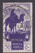 Italy-Colonies And Territories-Libya AP 27 1928 Air Post 50c Violet, Used - Libya
