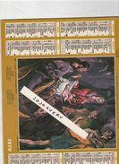 """Calendrier 1979 Photo """"adoration Des Bergers"""" Le Greco Et """"la Vierge à La Mantille"""" Murillo Cartes Voir Description - Calendriers"""