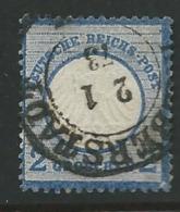 Allemagne   - Yvert N° 5  Oblitéré -  Ai26007 - Oblitérés