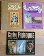CP8 / 1 Argus BAUDET + 2 Ouvrages Sur Les Cartes Postales Anciennes - Livres