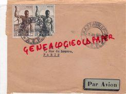 AFRIQUE - CONGO BRAZAVILLE 1952- ENVELOPPE PAR AVION - Congo - Brazzaville