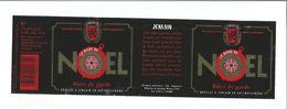 """Etiquette De BIERE """" JENLAIN Bière De Noel 75 Cl """" - Beer"""