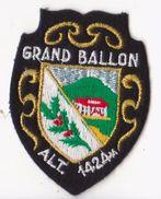 écusson Brodée -  Grand Ballon - Scudetti In Tela