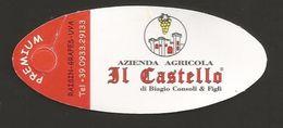 # IL CASTELLO TABLE GRAPE Type 2 Italy Fruit Tag Balise Etiqueta Anhänger Cartellino Uva Raisin Uvas Traube - Fruits & Vegetables