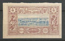 COTE DES SOMALIS N° 8a NEUF** LUXE SANS CHARNIERE MNH   / Signé CALVES - French Somali Coast (1894-1967)