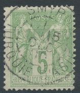 Lot N°37325  N°106, Oblit Cachet à Date étranger  SMYRNE (Turquie D'Asie) - 1876-1898 Sage (Type II)