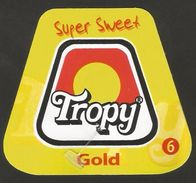 # PINEAPPLE TROPY GOLD Calibre 6 Fruit Tag Balise Etiqueta Anhanger Ananas Pina Colombia - Fruits & Vegetables