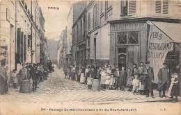 75- PARIS 11  / 75807 - Passage De Ménilmontant - Très Belle Animation - Distretto: 11