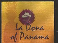 # PINEAPPLE LA DONA OF PANAMA Fruit Tag Balise Etiqueta Anhanger Ananas Pina Chapeau Chapeau Hat - Fruits & Vegetables