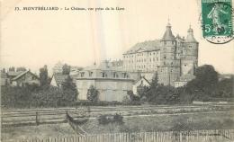 25 MONTBELIARD CHATEA VUE PRISE DE LA GARE - Montbéliard
