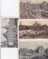 282230Amsterdam, Damrak – Nieuwmarkt – Roking Na De Demping (zie Achterkant)- Centraal Station (4 Kaarten) - Amsterdam
