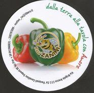 # PEPERONI F.LLI ZANINI Italy Tag Balise Etiqueta Anhänger Pepperoni Gemuse Vegetables Ape Bee Abeille Abeja Biene - Fruits & Vegetables