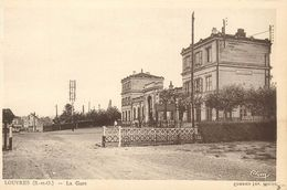 95 LOUVRES  La Gare - Louvres