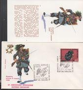 3179  FDC + Postal ,  Italia  1974  Uniformes Militares,.Roma Aurelio - Militaria