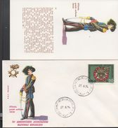 3179  FDC + Postal ,  Italia  1974  Uniformes Militares,San Martino Della Battaglia - Militaria